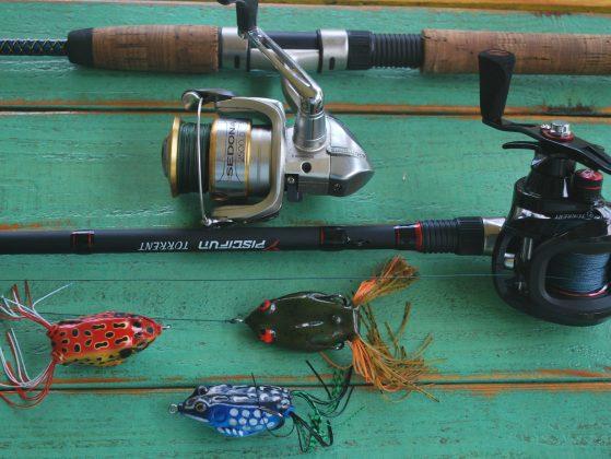 bass fishing frog lures